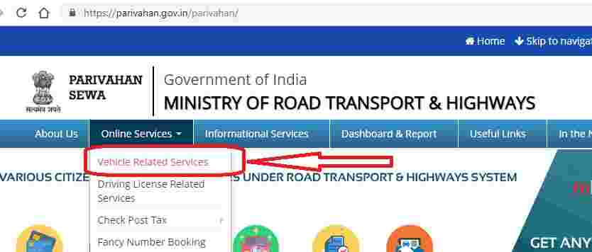 How to pay road tax online
