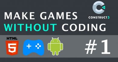 Introduction To HTML5 Facebook Games In Hindi - Make Games Without Coding Using Construct 3   Part 1