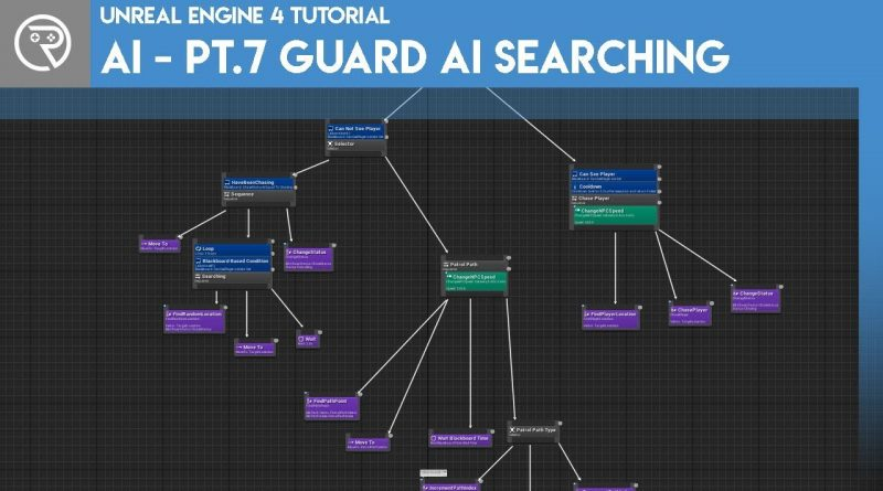 Unreal Engine 4 Tutorial - AI - Part 7 Guards Searching