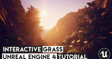 How To Create Interactive Grass - Unreal Engine 4 Tutorial
