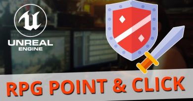 Unreal Engine RPG Point And Click Tutorial