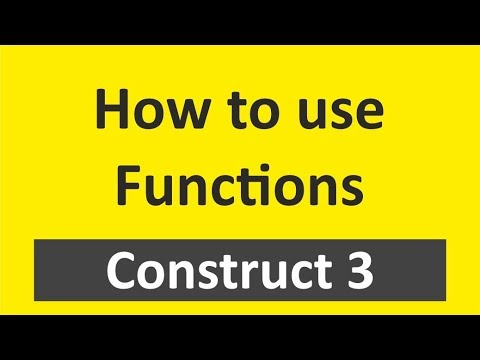 How to use (in-built) function in Construct 3