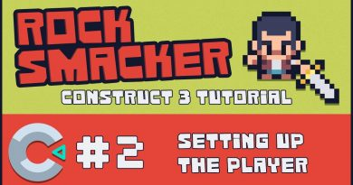 Construct 3 Tutorial - Rock Smacker #2 - Setting up the Player