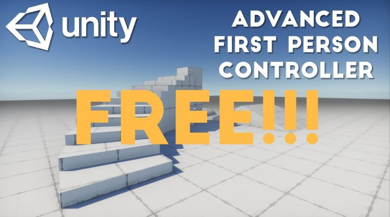 FREE First Person Controller in Unity + Tutorial   VeryHotShark