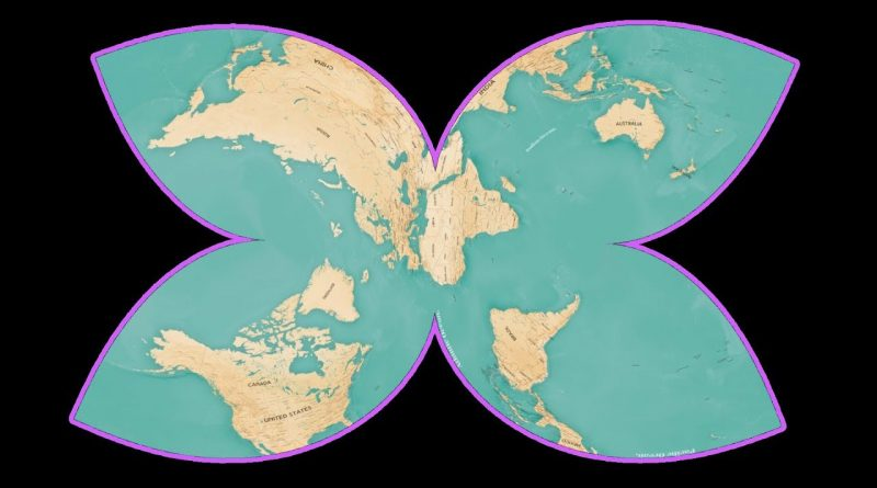 Create Map Projections Fast (Blender Tutorial)