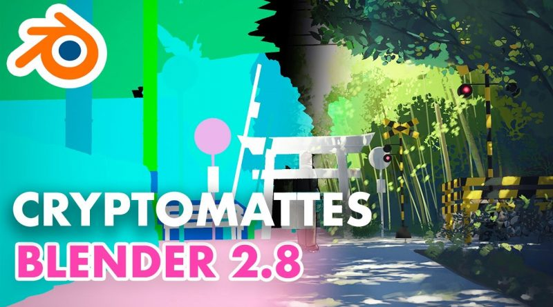Using Cryptomattes in Blender 2.8 - Compositing Tutorial