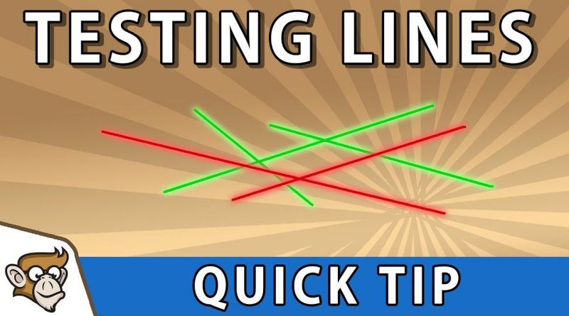 Quick Tip: Draw Line Gizmos for Testing (Unity Tutorial)
