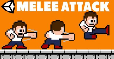 2D Game Dev Tutorial -  Melee Attacking in Unity (Sprites included)