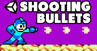 HowTo Shoot Bullets in Unity (2D GameDev Tutorial C#)