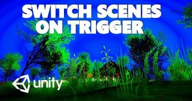 HOW TO CHANGE SCENES WITH A TRIGGER IN C# UNITY TUTORIAL