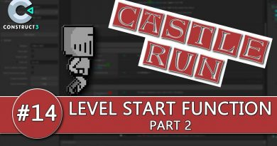 Construct 3 Tutorial #14 - CASTLE RUN - Function, HUD & Paralax Effects