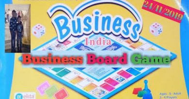 How To Play Business Game | Business Board Game in Telugu | Fun & Interesting Game For Children's |