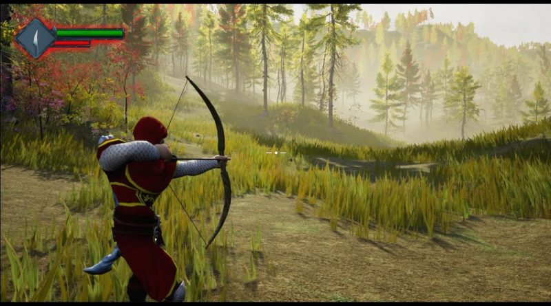 Unreal Bow and Arrow - Camera Aiming down and Crosshair - UE4 Tutorials #173