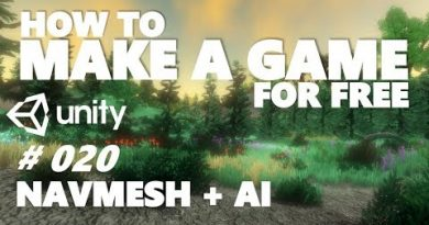 HOW TO MAKE A GAME FOR FREE #020 - NAVMESH | AI - UNITY TUTORIAL