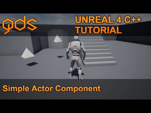 Unreal 4 Simple Spin and Bob Actor Component in C++
