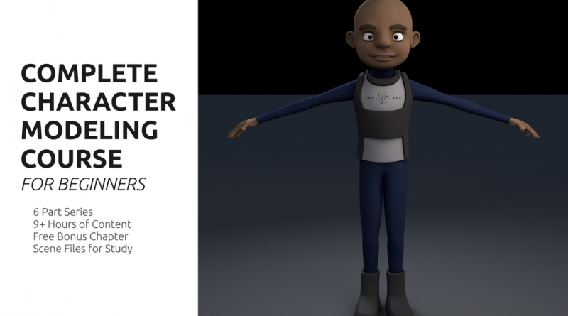 Complete Character Modeling Course for Beginners