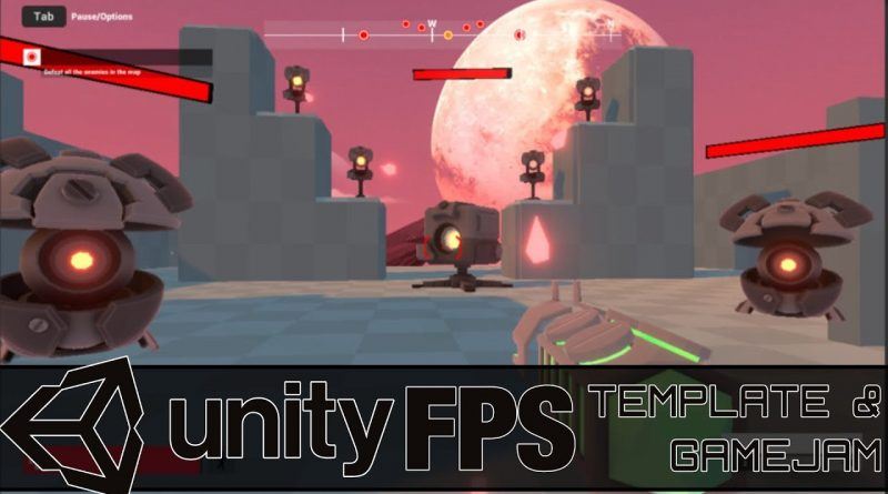 New Unity FPS Game/Course -- Learn GameDev By Modding