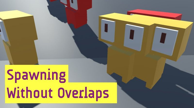 Procedural Generation Basics: Prevent Overlap Spawns With Boxcasts In C# [Unity Tutorial]