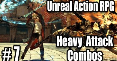 Combos for Heavy Attacks & Bug Fixing - #7 Unreal Engine 4 Hack and Slash RPG