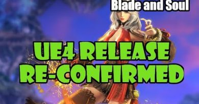 [Blade and Soul] Unreal Engine 4 (UE4) Release Date Re-Confirmed for Korea!
