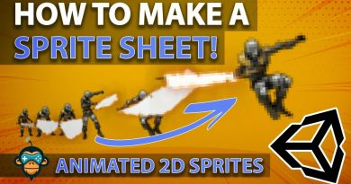 How to build a SPRITE SHEET in Unity - Animated 2D Sprite Sheet Tutorial