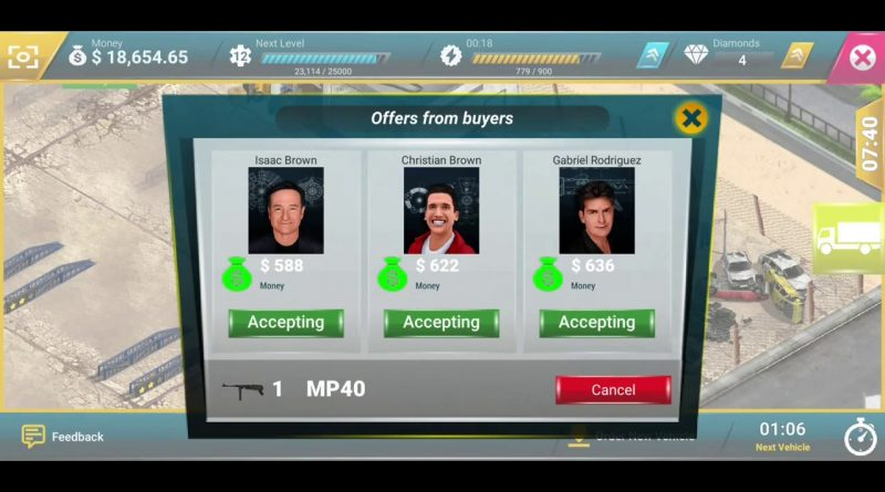 Junkyard Tycoon Business Simulation #8 - Business Game Simulator Android GamePlay FHD