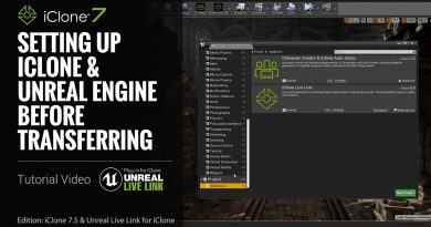 Unreal Live Link Plug-in Tutorial - Setting Up iClone & Unreal Engine before Transferring