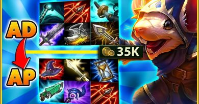 THE 35,000 GOLD BUILD THAT WON ME THE GAME - BunnyFuFuu | League of Legends