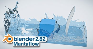 How to Create a Mantaflow Fluid Simulation in Blender (2.82)