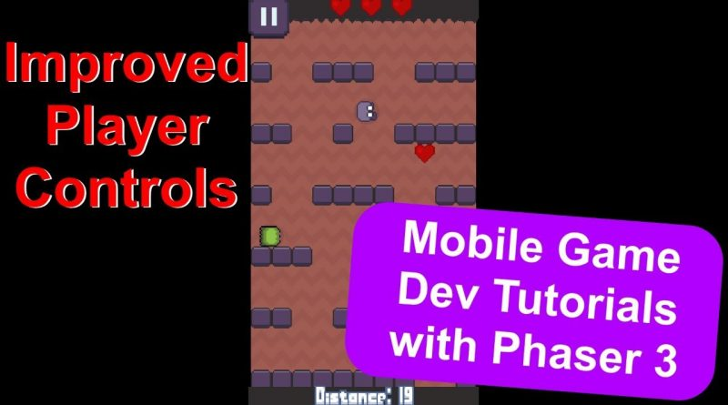 'Endless Cave' Ep. 10: Player Controls | Phaser 3 Game Dev Tutorial