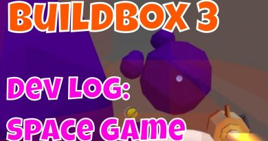 Buildbox GameDev Log Space Game with Exploding Asteroids and Objects