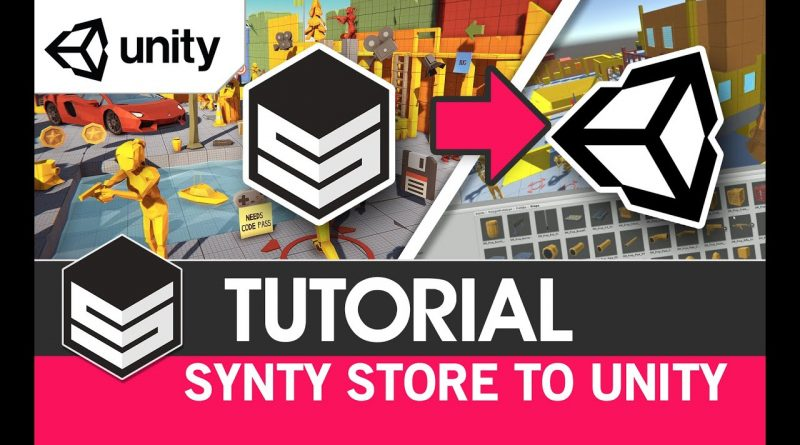 How to use assets from Synty Store in Unity - (Tutorial) by #SyntyStudios
