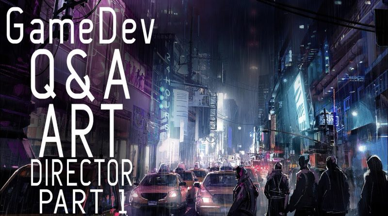 ART DIRECTOR TIPS FOR STUDENTS / GETTING INTO THE GAME INDUSTRY - GameDev Q&A Ep 03 pt1