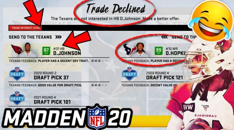 I attempt the CRAZY Real Life NFL Trades in Madden, and WOW!