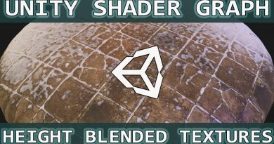 Unity Shader Graph Tutorial: Height Blended Vertex Painting.