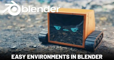 Blender Tutorial - Easy Environments with FREE Photo-scanning