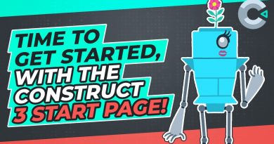 Where to start? The Construct 3 Start Page of course!