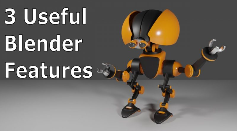 Blender Tutorial: Useful Features You May Not Know About