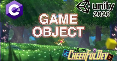 GameObject | C# Tutorial | Unity Guide 05