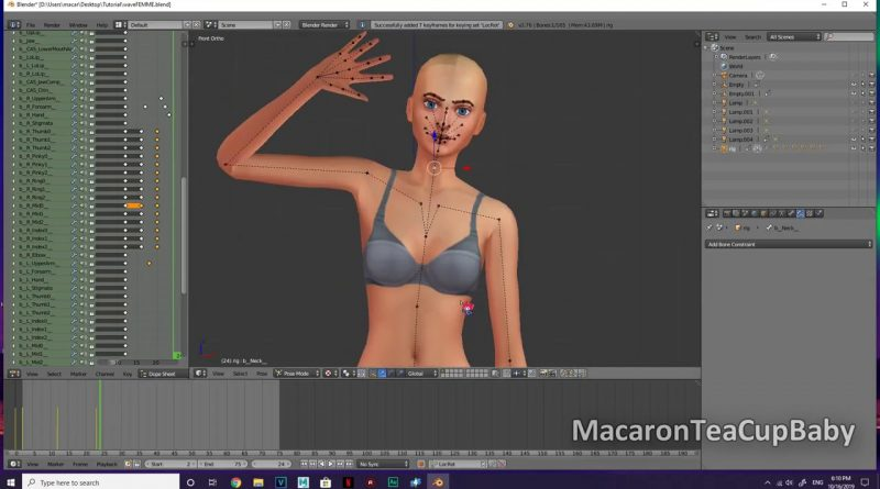 How to Make Custom Sims 4 Animations with Blender [Tutorial]