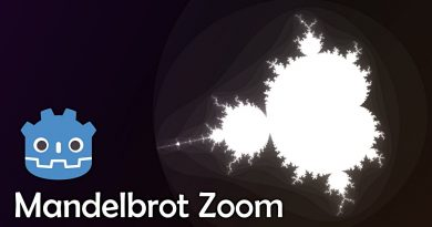 How to make a Mandelbrot Zoom in Godot Shaders