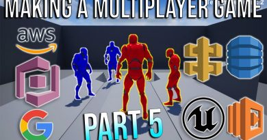 How To Make A Multiplayer Game With Unreal Engine and Amazon GameLift (Part 5 - Cognito)