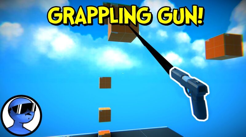 How to Make Grappling Gun in Unity (Tutorial)
