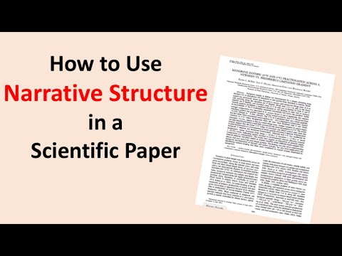 How to Use Narrative Structure in a Scientific Paper