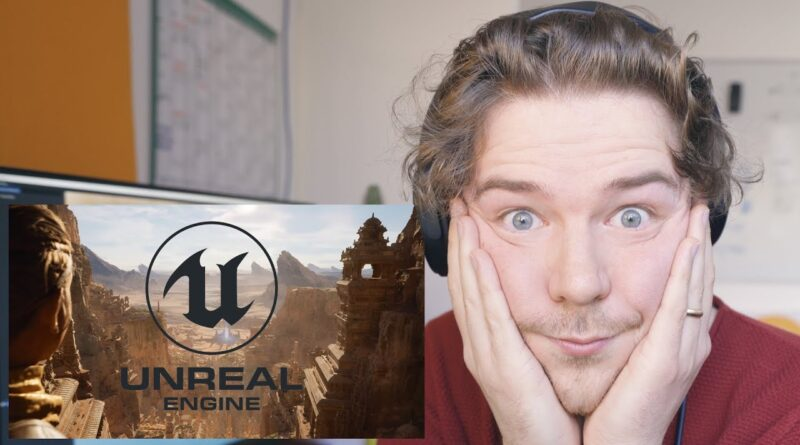 GAME ENGINE DEVELOPER Reacts to UNREAL ENGINE 5 Demo