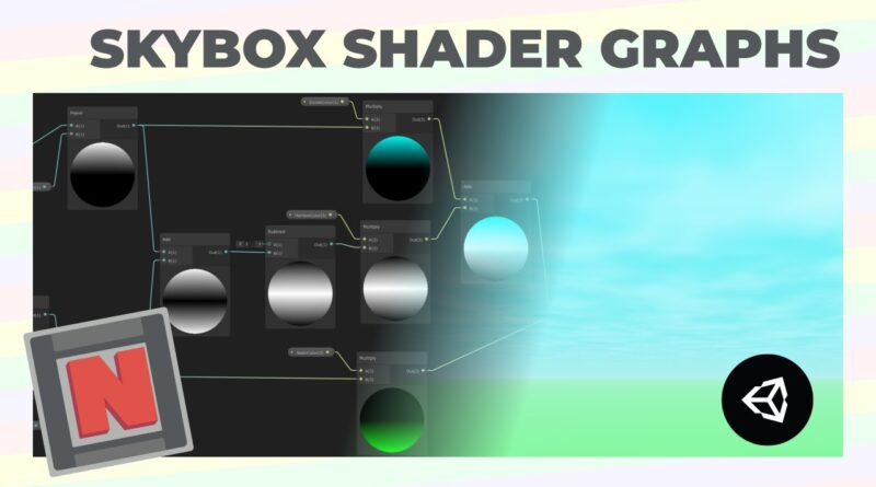 Making a Procedural Skybox Shader in Unity With Shader Graph! | Game Dev Tutorial