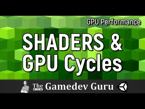 Unity Shader Performance: How to Quickly Measure the GPU Cycles Your Shaders Take