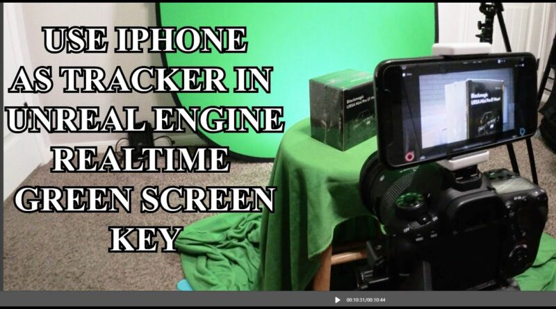 Using an iPhone as a tracker in Unreal Engine 4