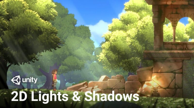 2D Lights and Shadows in Unity 2019! (Tutorial)