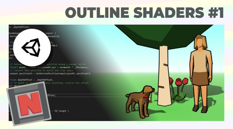 Making a Hull Outline Shader in Unity URP Using Renderer Features and Culling!   Game Dev Tutorial